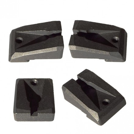 Rear sight target grooved 10mm