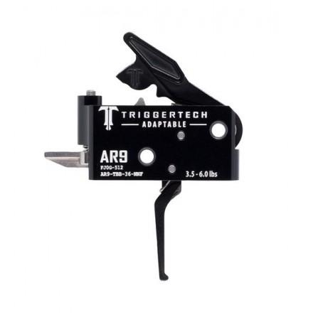 Trigger Kit AR 9 Adaptable Flat Black 3.5 - 6.0 LB Adjustable Trigger Weight - TriggerTech