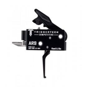 Gruppo di scatto AR9 Adaptable Flat Black, Peso Scatto Fisso 3.5 Libbre - TriggerTech