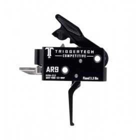 Trigger Kit AR 9 Competitive Flat Black, 3.5 LB Fixed Trigger Weight - TriggerTech