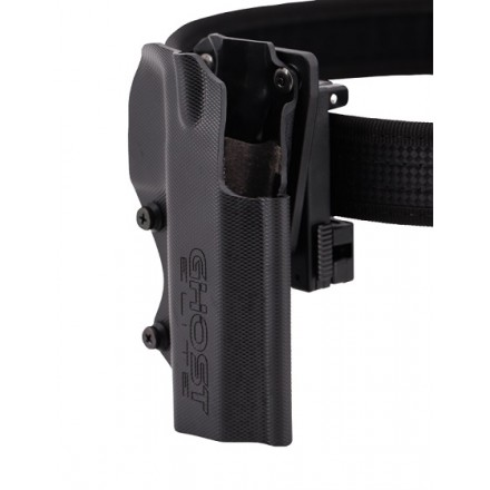 The Civilian ELITE 3G Ghost Holster with Clip Devert - Ghost International