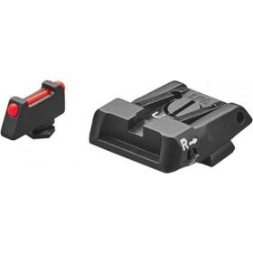Tacca di mira e mirino (mirino con fibra ottica) Glock- LPA