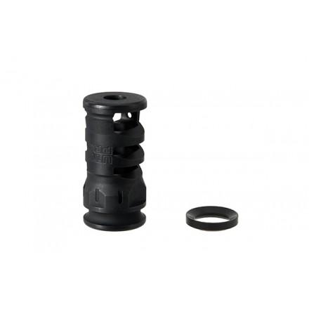 "AR15 Stubby Muzzle Brake, .223/5.56, 1/2""X28 1.75"" Length - UTG PRO"