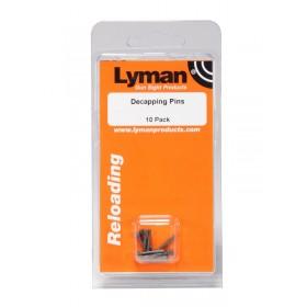 Pin Decapsulatori per Set Dies Lyman Premium (Kit 10 pz.) - Lyman
