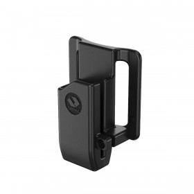 Single Steel Magazine Holster with Belt Loop Attachment - Orpaz