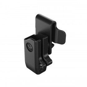 Single Polymer Magazine Holster with Two Belt Clip Attachment - Orpaz