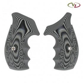 Guancette Tactical Diamond per Revolver Smith & Wesson, Telaio Tipo N, Profilo Round Bottom - VZ Grips