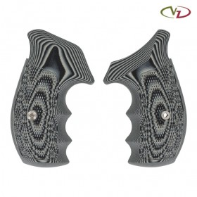 Tactical Diamond Grips for Smith & Wesson Revolver, N-Frame Round Bottom - VZ Grips