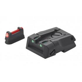 Tacca di mira e mirino con fibra ottica CZ 75 SP01 Shadow- LPA