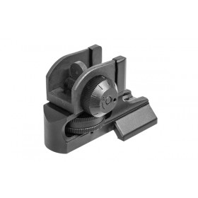 AR15 Super Slim Fixed Rear Sight, Picatinny
