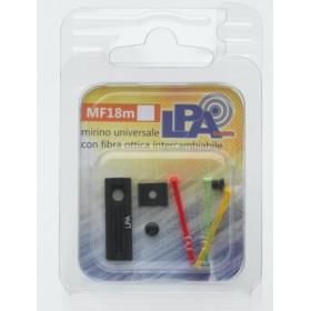 Mirino Universale con fibraottica intercambiabile (8mm) - LPA