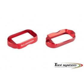 Rosso Minigonna Tactical Glock 17 Gen. 4 Alluminio - Toni System