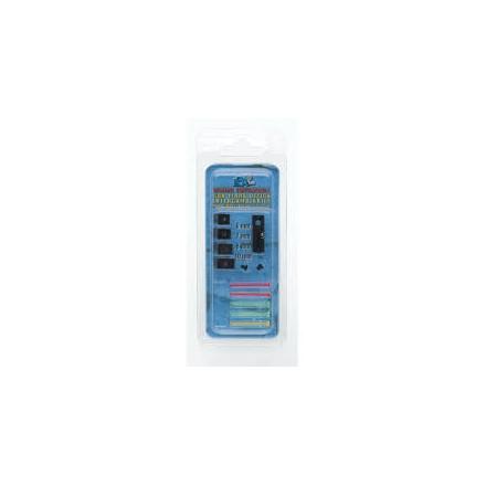 Mirino Universale con fibra ottica per bindelle da 6-7-8-10mm - LPA