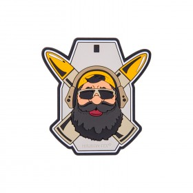 PVC Patch 'Beardman RANGE' - Helikon Tex