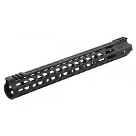 "UTG PRO M-LOK® AR15 15"" Ultra Slim Free Float Handguard, Ti"