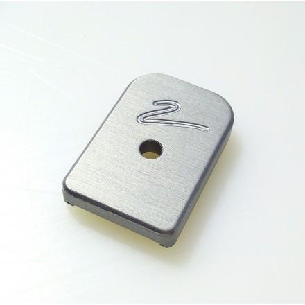 Aluminium Pad Shadow 2 CZ - X-ray Parts