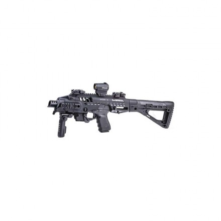 RONI SBS Glock equipped with AR15 stock - M4 in various colors - CAA