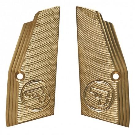 Guancette ottone per CZ 75 SP-01 SHORT checkered slim