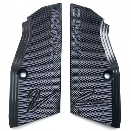Alluminium Grips SHORT SLIM Shadow 2 - CZ - X-ray Parts