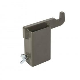 SRT Target Mounting Hook® - Hardox 600 Steel, Brown Grey