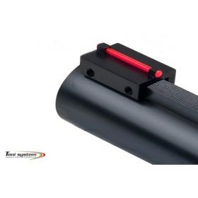 Front sight for shotgun rib under 8.1 mm - Toni System
