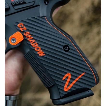 CZ Shadow 2 Palm Swell Ridgebacks Color-fill Engraved - Lok Grips
