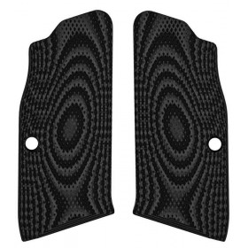 Guancette Tanfoglio Palm Swell Checkered Small Frame - Lok Grips