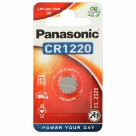 Batteria a bottone CR1620 in litio 3V - Panasonic
