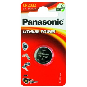 Button battery LR44 Lithium 3V - Panasonic