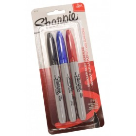 Brass Marker Sharpie markers - set of 3
