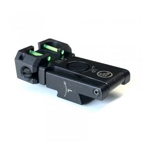 Tacca di mira regolabile con fibre ottiche CZ 75 SP-01 / Shadow 2 - CZ