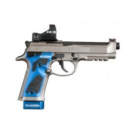 Guancette Alluminio per Beretta 92X Performance con Grip Tape - Toni System