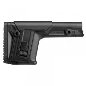 """CALCIO """"RAPS"""" REGOLABILE CON POGGIAGUANCIA NERO x AR15/M4 (RAPSB) - Fab Defense"""