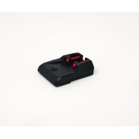 Tacca di mira con fibre ottiche 1mm CZ P-10 C - CZ