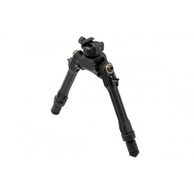 "UTG PRO® TBNR® Bipod, 7""-9"" Center Height, Picatinny"