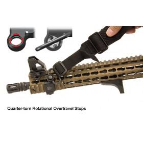 UTG Low-Pro Picatinny-mount Angled QD Sling Swivel Adaptor