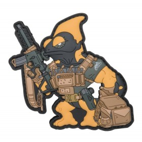 """Patch in PVC """"Chameleon Firearm Instructor"""" - Helikon Tex"""