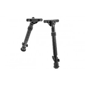 "RECON FLEX Keymod Bipod, Matte Black, 8.0""-11.8"" Center Height - UTG"