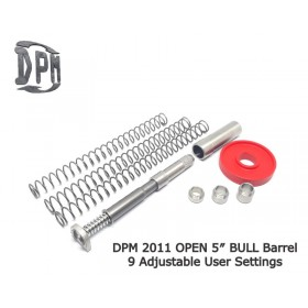 DPM recoil system for 2011 OPEN - DPM