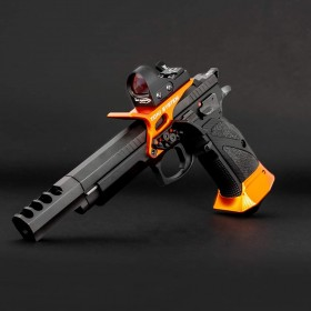 Guancette X3D Grip CORTE, per CZ 75 SP01 / Shadow 2 / Tactical Sport / Czechmate Alluminio- Toni System