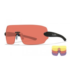Wiley X Detection, Matte Black Frame, 3 lens