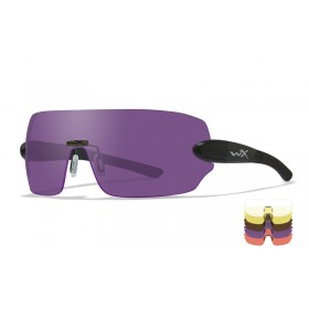 Wiley X Detection, Matte Black Frame, 5 lens