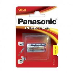 Batteria CR123, Litio 3V - Panasonic