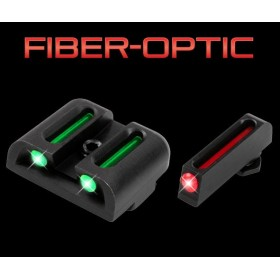 Sights Set, with Fiber Optic Red and Green, Glock 42 and 43 - Truglo