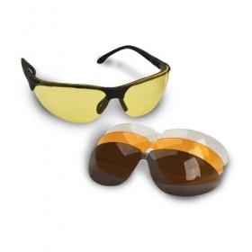 Occhiali protettivi con 4 lenti intercambiabili - Walker's