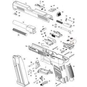 CZ P10C Ramp Pin - CZ