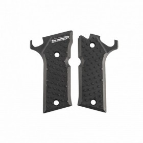 Guancette Alluminio per Beretta 92X Performance, Vibram Grip - Toni System