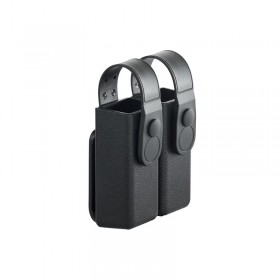 Double Magazine Pouch in ABS with retention and belt loop