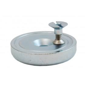 Magnete Laterale (con vite e boccola) per Racer pouch Monofilare - DAA