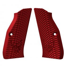 Slim Aluminium Grips SHORT CZ 75 SP01/ Shadow 2 - Matt Competition Products